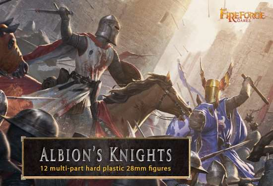 Albion's Knights: Fireforge 28mm Plastic Figures