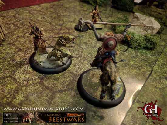Barbarian Beestwars playtest