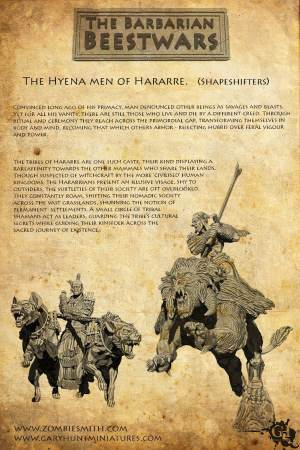 Hyenamen of Harrarre lore