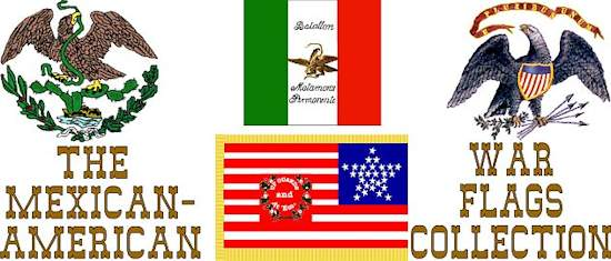 Mexican War Flags Collection
