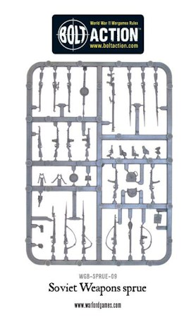 Soviet Weapon Sprue