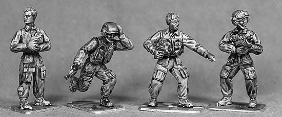 Modern Brit Armored Vehicle Crew