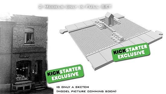 New exclusive model only on Kickstarter and in full-set pledge