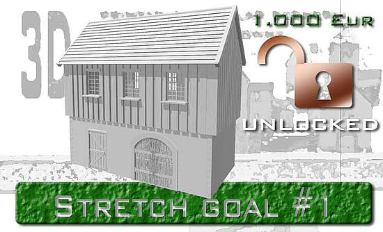 First stretch-goal is unlocked