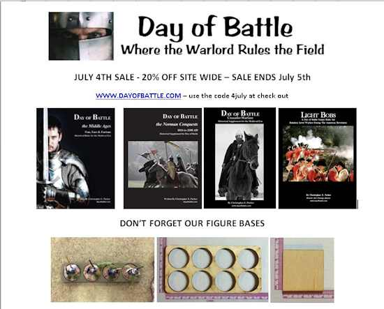 Day of Battle, July 4, Sale