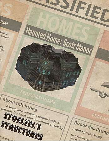 Haunted Home – Scott Manor