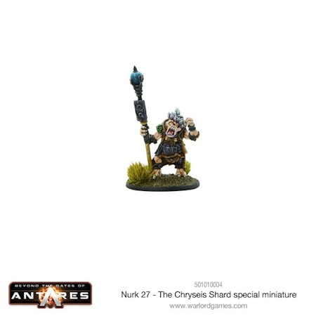 Beyond the Gates of Antares 501010004 The Chryseis Shard Supplement Book Warlord