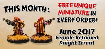 Monthly Promo Female Knight Errant