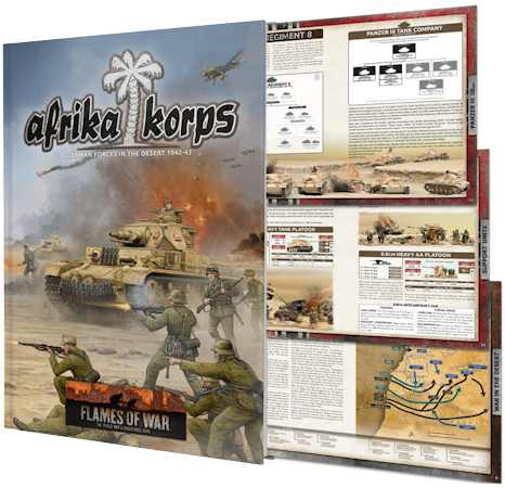 Afrika Korps: German Forces in the Desert 1942-43 (FW242)