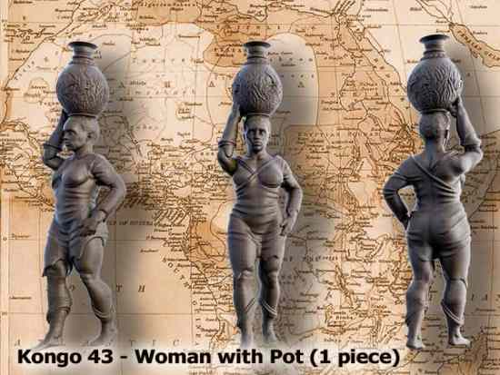 Woman with Pot