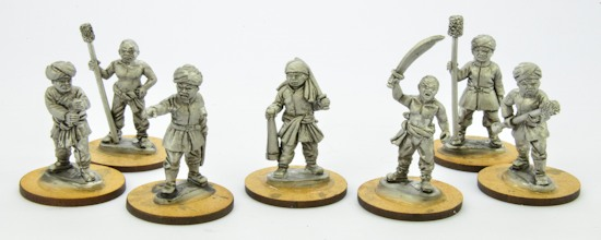 28mm Boxer Rebellion Cannons & Crew