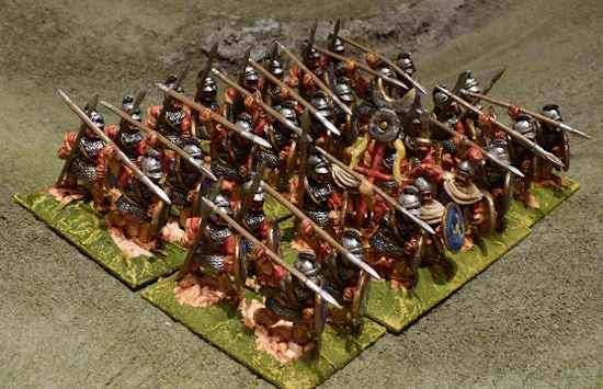 28mm Carthaginian Heavy Libyan Spear
