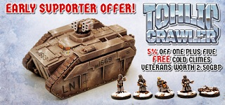 Tohlic Crawler Early Supporter Offer
