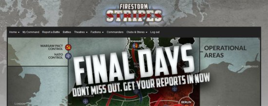 Last Week Of Firestorm: Stripes