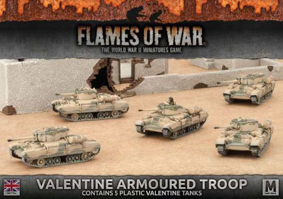 Valentine Armored Troop