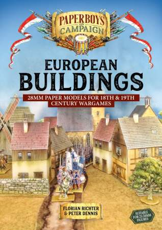European Buildings: 28mm Paper Models for 18th & 19th Century Wargames
