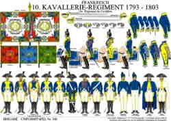 349: FRANCE: 10th Cavalry Regiment 1793-1803