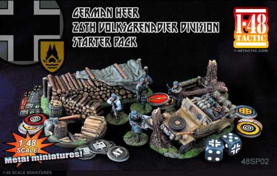 German Heer – 26th Volksgrenadier Division Starter Pack