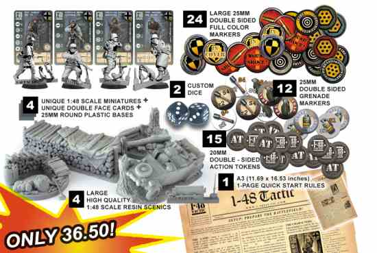 German Heer – 26th Volksgrenadier Division Starter Pack contents
