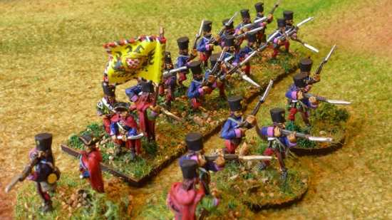 15mm 7 years War Grenze