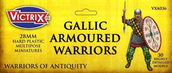 Victrix Gallic Armored Warriors: 28mm Plastic Miniatures cover