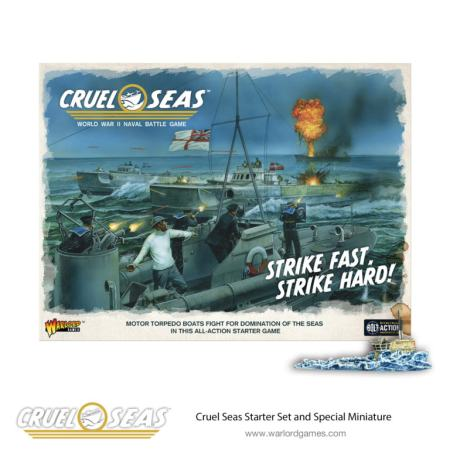 Cruel Seas Starter Set and Special Miniature