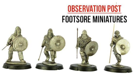 28mm Footsore Miniatures Vikings