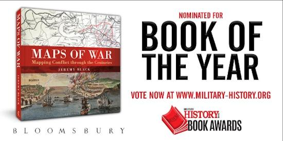 Maps of War Nominated for Book of the Year