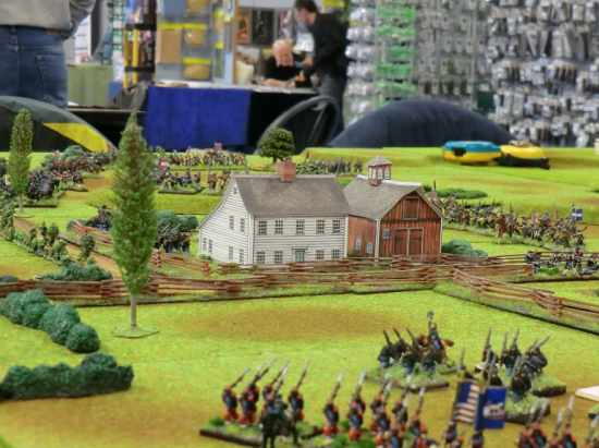 10mm ACW game at the Sheffield Triples