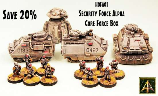 Security Force Alpha Core Box
