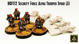 SFA Trooper Sprue