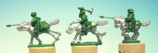 French Archers/Heavy Cavalry Charging