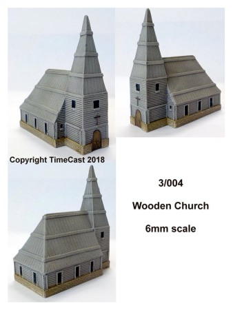 6mm Wooden Church – Eastern Europe