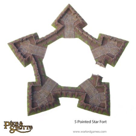 Battle-Ready 5-Pointed Star Fort