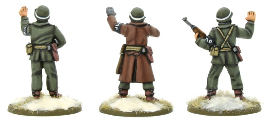 Warlord Games: Winter U.S. Army MPs