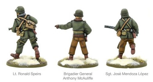 Warlord Games: Winter U.S. Army characters