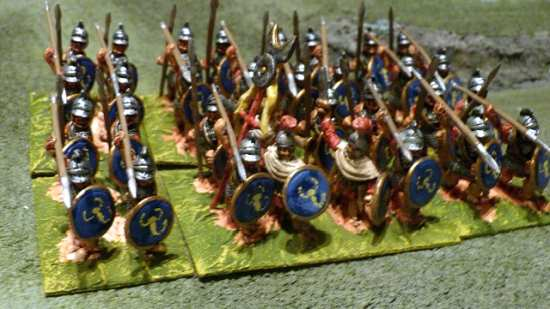 28mm Carthaginian African Infantry