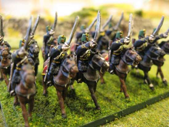 19th Century Austrian Hussars – 15mm