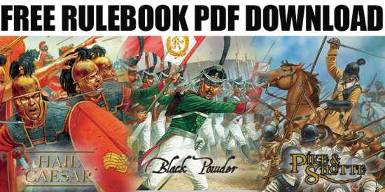 Warlord Games: Free Rulebook Downloads
