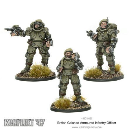 Konflikt 47 British Galahad Armored Infantry Officer