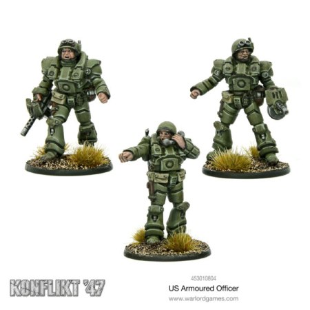 Konflikt 47 U.S. Armored Officer