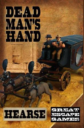 THE CURSE OF THE DEAD MAN'S HAND: Dead Man's Hand Hearse