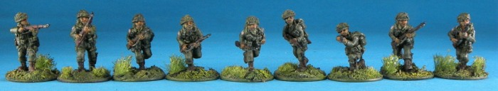 20mm U.S. Airborne riflemen