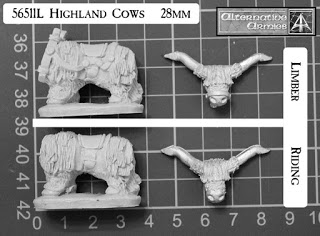 Highland Cow parts