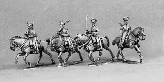 Russo-Japanese War Russian cavalry