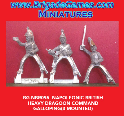 BG-NBR060 British Heavy Dragoons Command 1812-1815