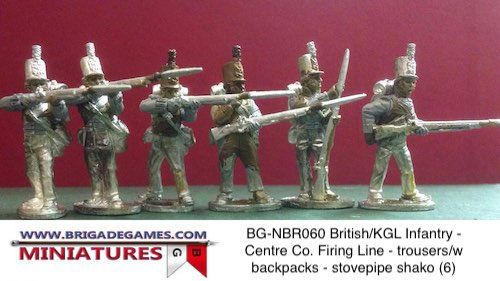 BG-NBR060 British/KGL Infantry – Centre Co. Firing Line