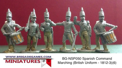 BG-NSP050 Spanish Command Marching (British Uniform – 1812-3)(6)
