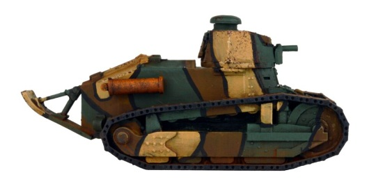 BG-T003R FT-17 Round Turret