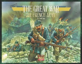The Great War: WWI Boardgame – French Army Expansion